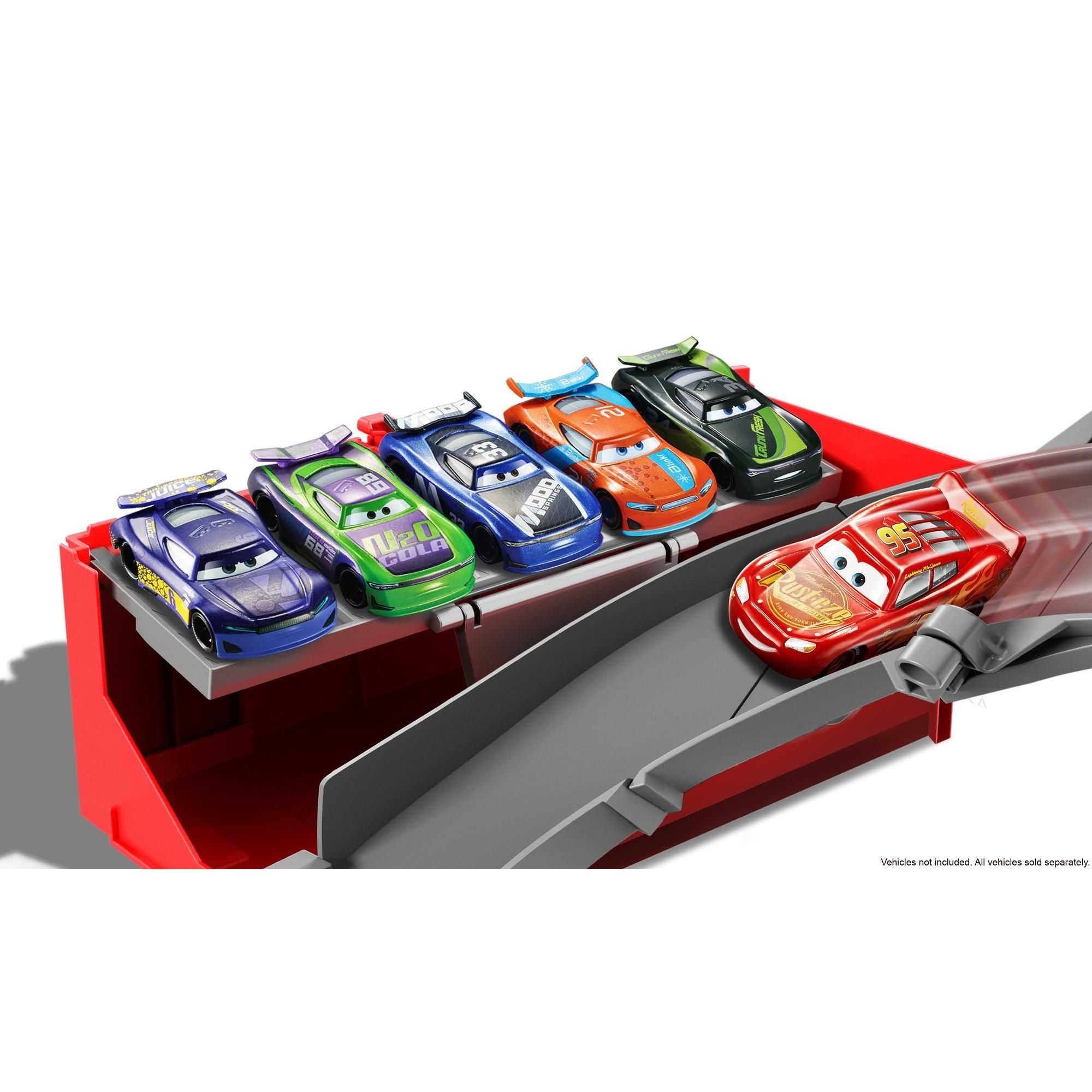 Disney Pixar Cars Super Track Mack Playset 2 In 1 Transforming Truck And Racetrack Super Track Cars Pixar Cars Disney Pixar Cars Disney Pixar