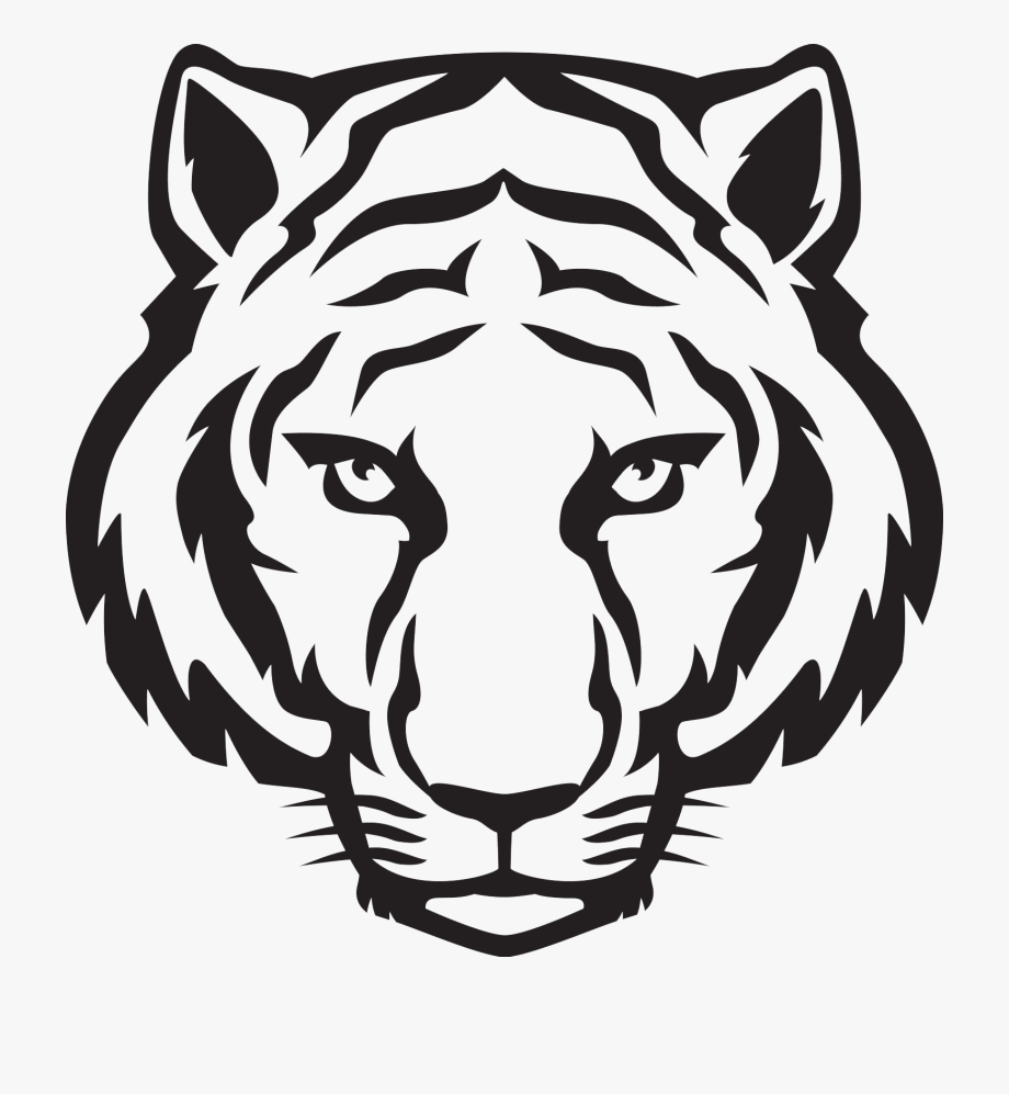 11++ Tiger clipart black and white easy ideas in 2021