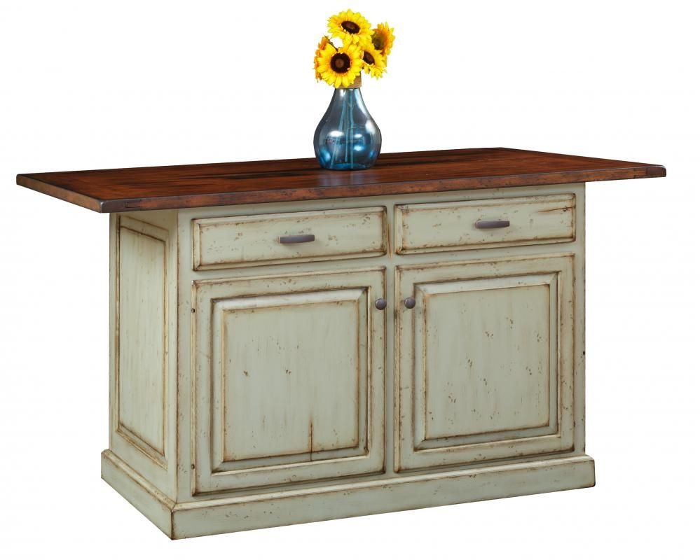 36 x 36 kitchen island