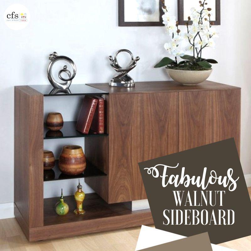 Stylish & Modern Design Jual Cube Sideboard Walnut Sideboard. Now ...