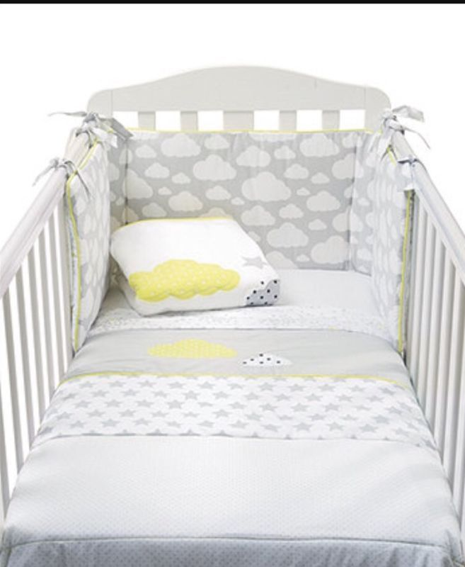 Cloud Mamas and Papas Bumper for Cot Bed