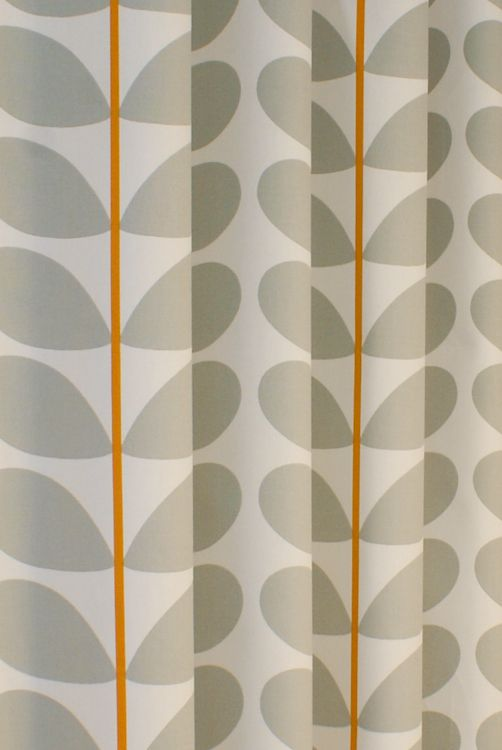 Two Colour Stem Warm Grey Curtain Fabric From Curtainscurtainscurtains Curtains Grey Curtains Orla Kiely Curtains