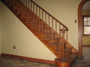 Best Tapered Stair Spindles Staircase With Graceful Tapered 400 x 300