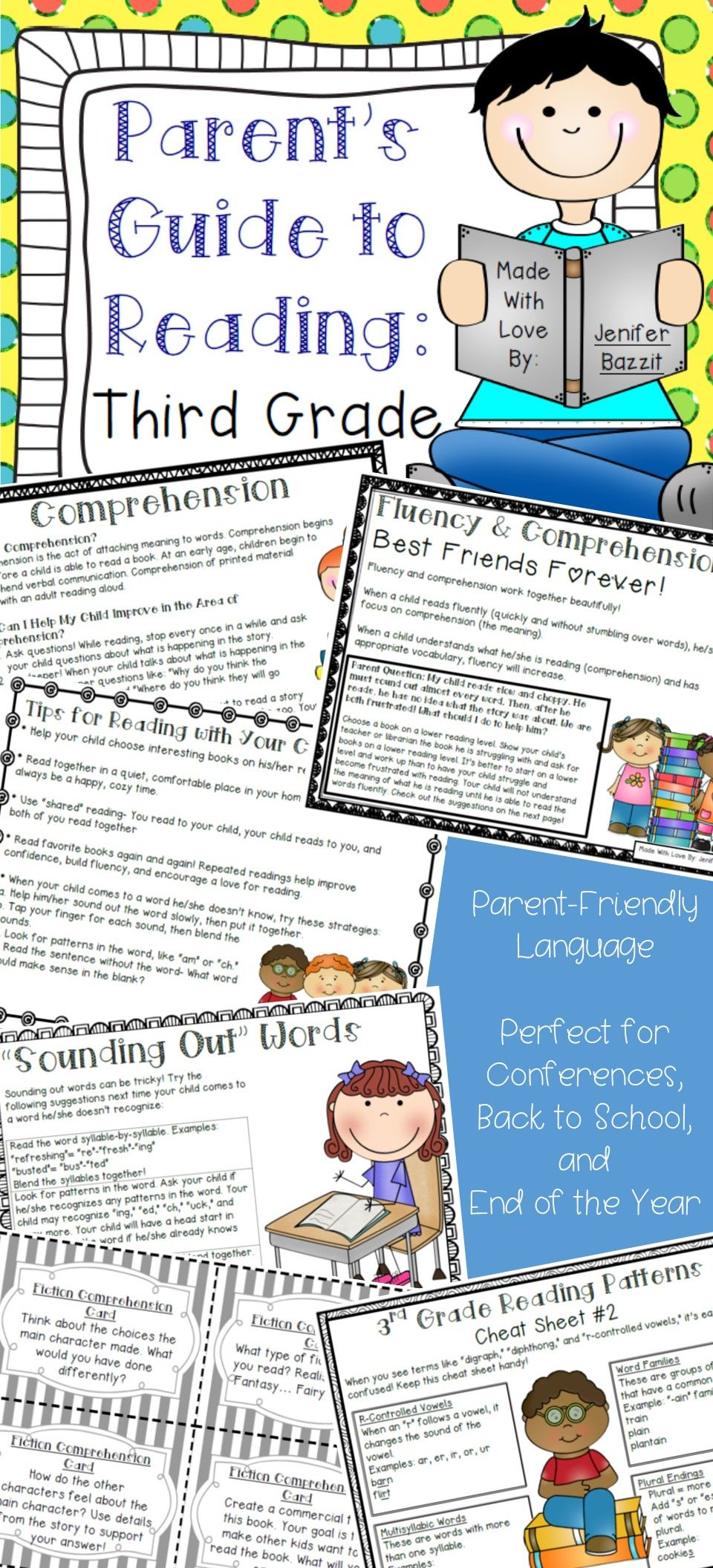 What Can Be Done To Help Parents Of >> Parent S Guide To Reading Third Grade Edition Classroom