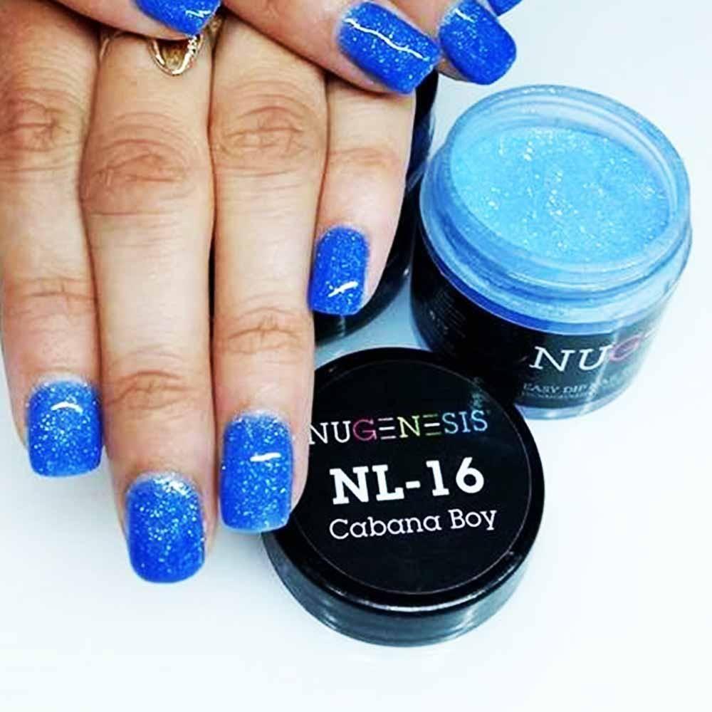 Dip Powder Manicure Nugenesis Nails Cabana Boy Nl 16 In 2020 Nail Polish Dip Nail Colors Powder Manicure