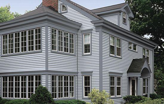 Trim photo gallery certainteed design center - Exterior window trim vinyl siding ...
