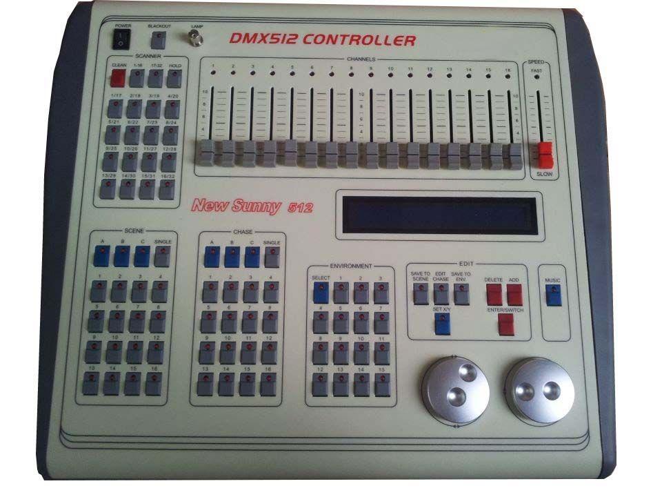 Rasha Factory Price NEW SUNNY512 DMX Controller,Stage DMX
