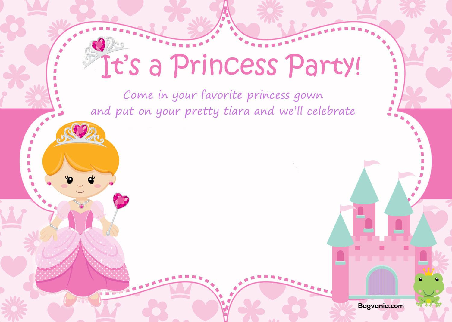 princess birthday invitations template free koni polycode co
