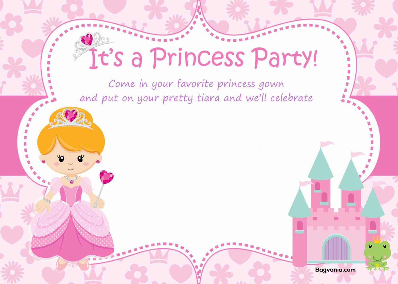 nice birthday invitation template