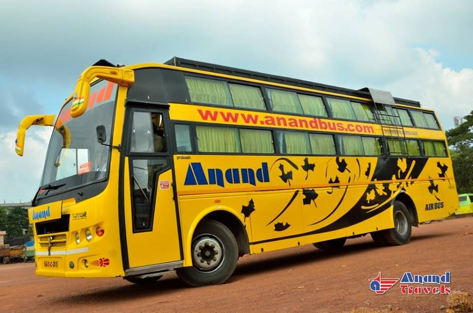 Daily Service From Bangalore To Kollur Mookambika Via Mangalore Udupi Kundapura Book Online Tickets Http Www Anandbus C Bus Tickets Bus Luxury Bus