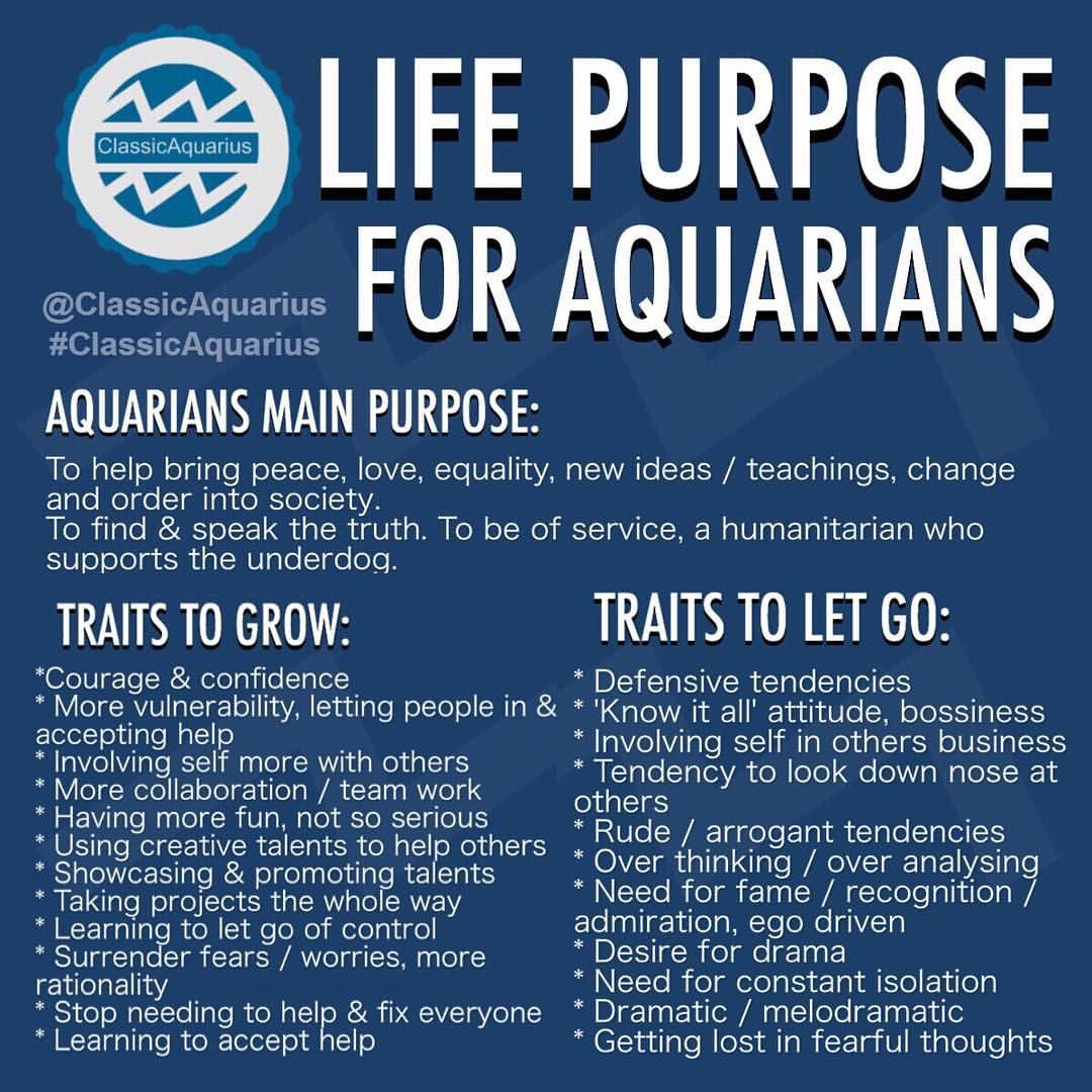ClassicAquarius Aquarius Aquarius truths, Aquarius