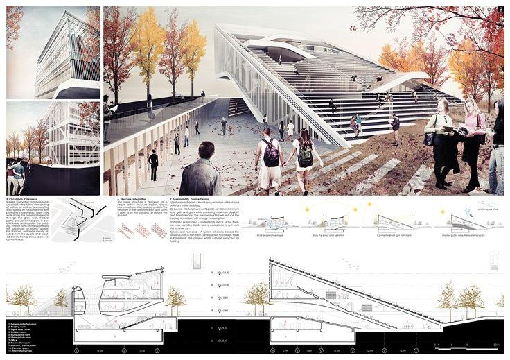 simple architecture presentation boards Google Search