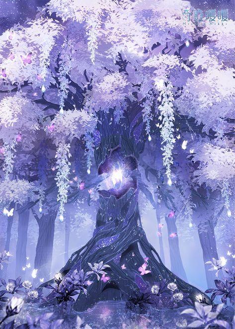 Trendy Nature Art Painting Beautiful 27 Ideas Nature Art Painting Anime Scenery Wallpaper Fantasy Artwork