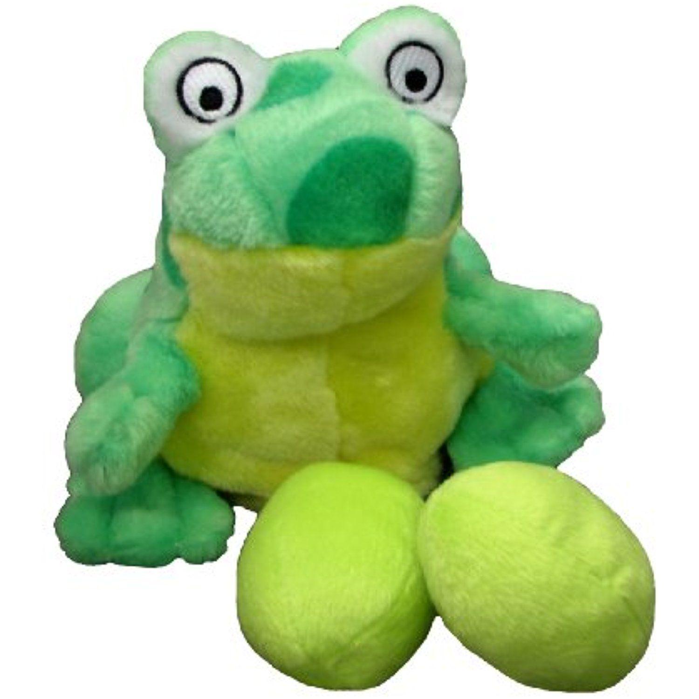 Outward Hound Kyjen Pp02241 Egg Babies Frog Plush Dog Toys Squeak