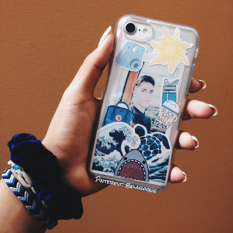 DIY clear case sticker inspo aesthetic Case, Iphone