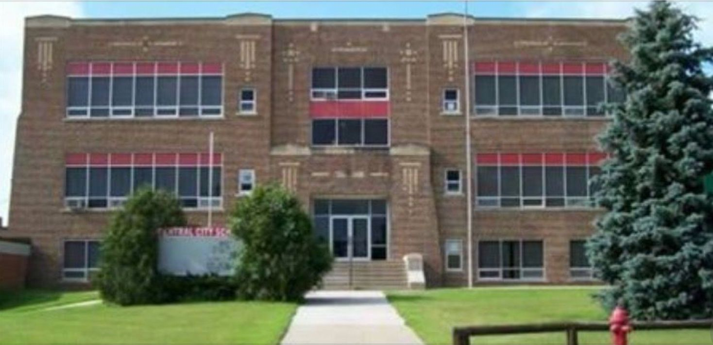 Old High School Central City, Iowa High school