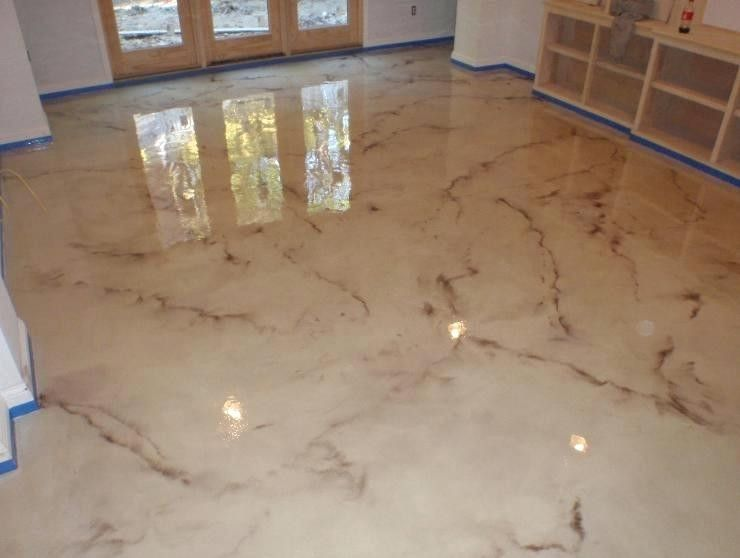 Interior How Stain Concrete Floors Look Like Marble Stained Beautiful Floor Excellent Rustic 5 Concr Metallic Epoxy Floor Concrete Stained Floors Epoxy Floor