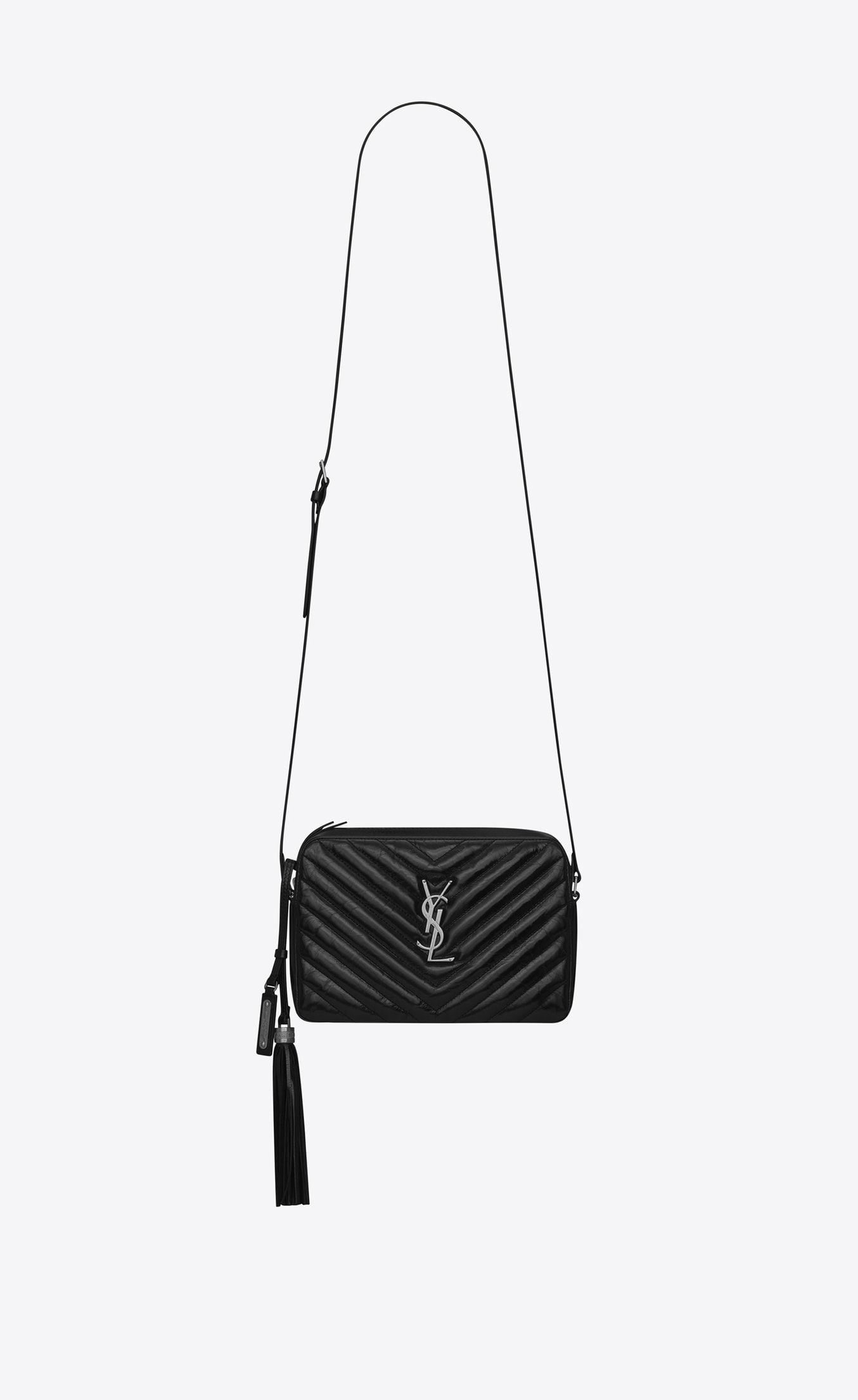 88e1e3c5a70b Saint Laurent Lou Camera Bag In Matelassé Leather