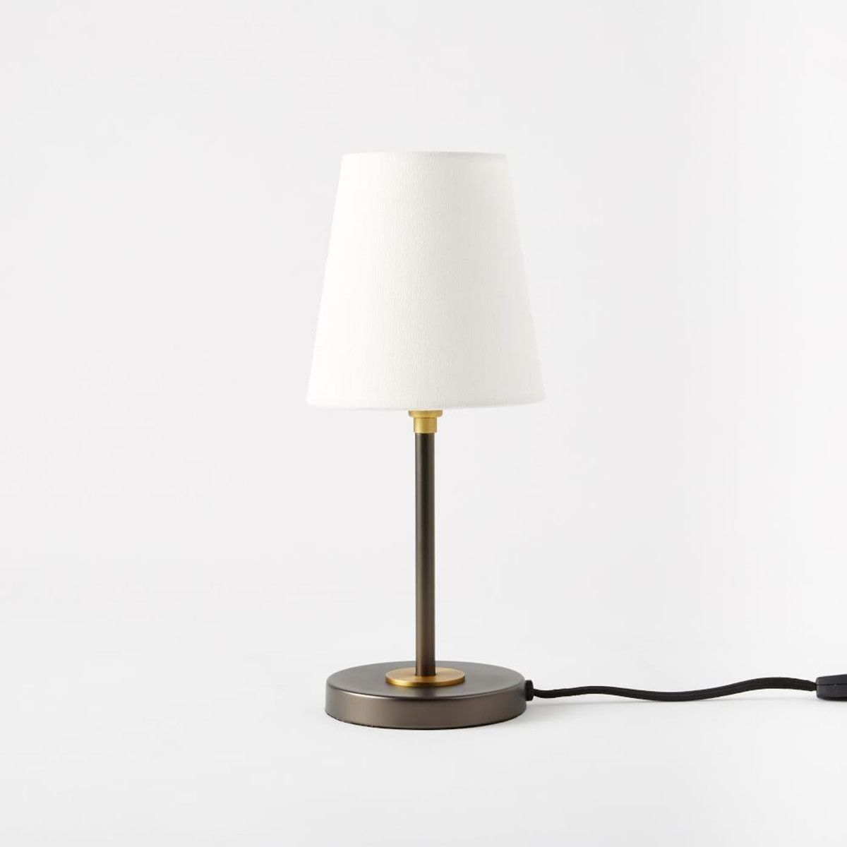 Arc Mid Century Table Lamp Small Antique Bronze New House