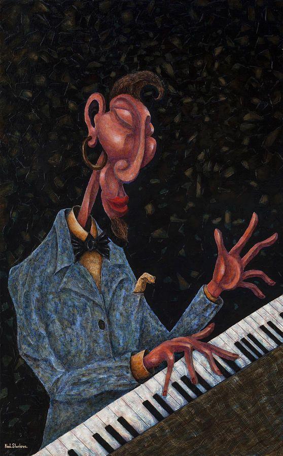 Jazz man ~ Ned Shuchter