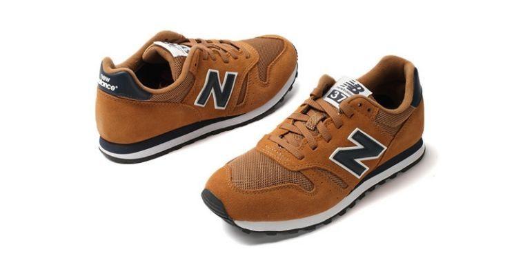 best service a5487 d03b6 Hommes NB  373  Suede Shoes marron noir (U2IANV)