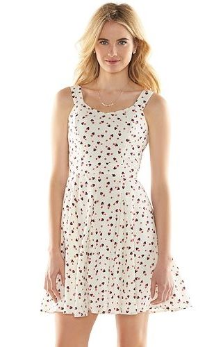 9bab0af073 Disney's Minnie Mouse a Collection by LC Lauren Conrad Open-Back Print  Dress - Women's