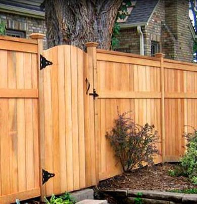 Cedar Is The Preferred Wood For Fence Building Because Of