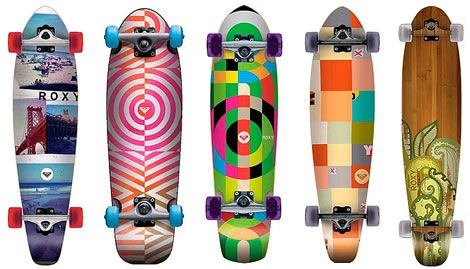 Roxy Skateboards