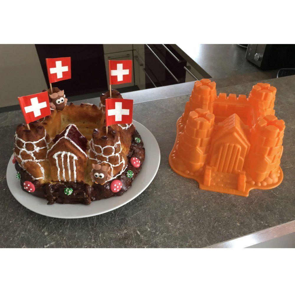 Ritterkuchen Fur Die Ritterparty Silikon Form Modell Ritterburg Schloss Geeignet Zum Backen Von Kuch Kuchen Und Torten Dessert Ideen Lebensmittel Essen