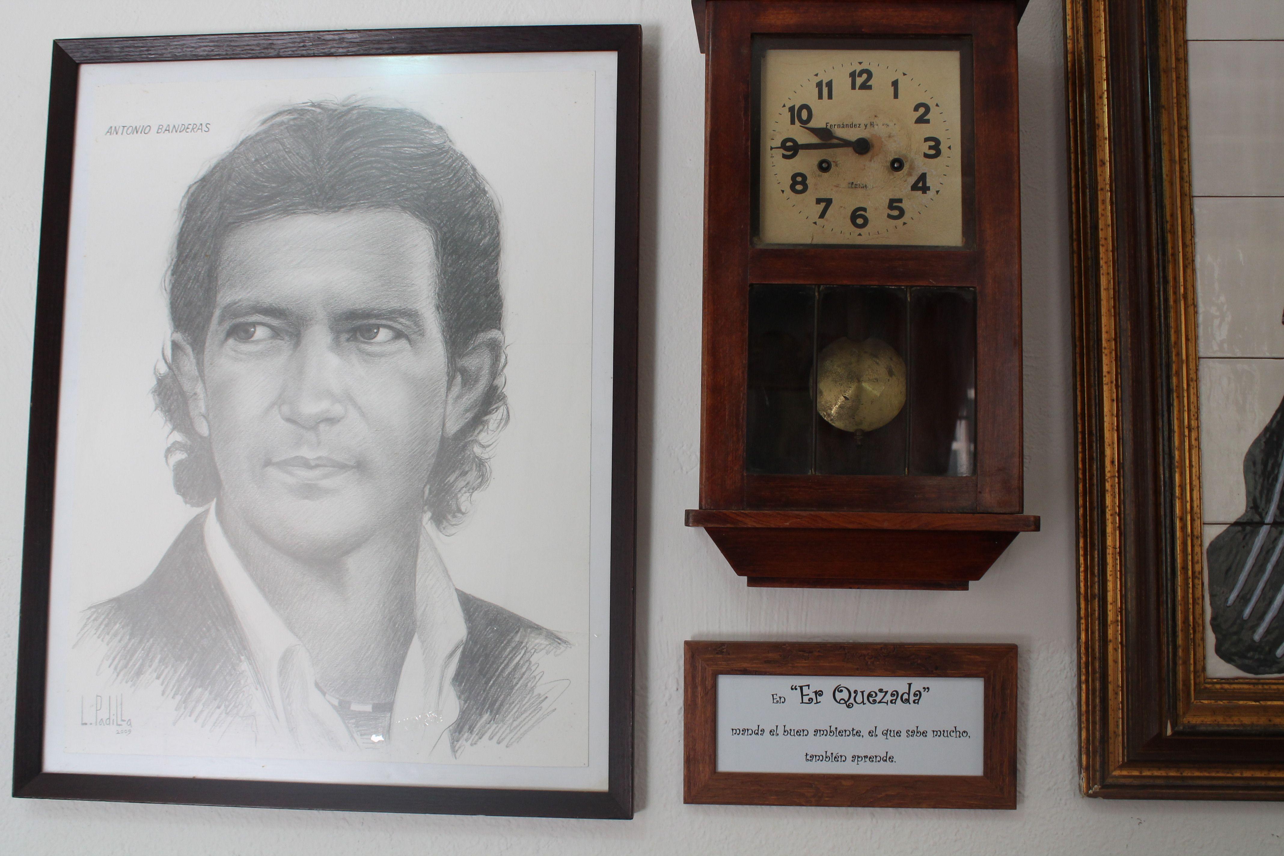 Uno de los retratos de nuestro local