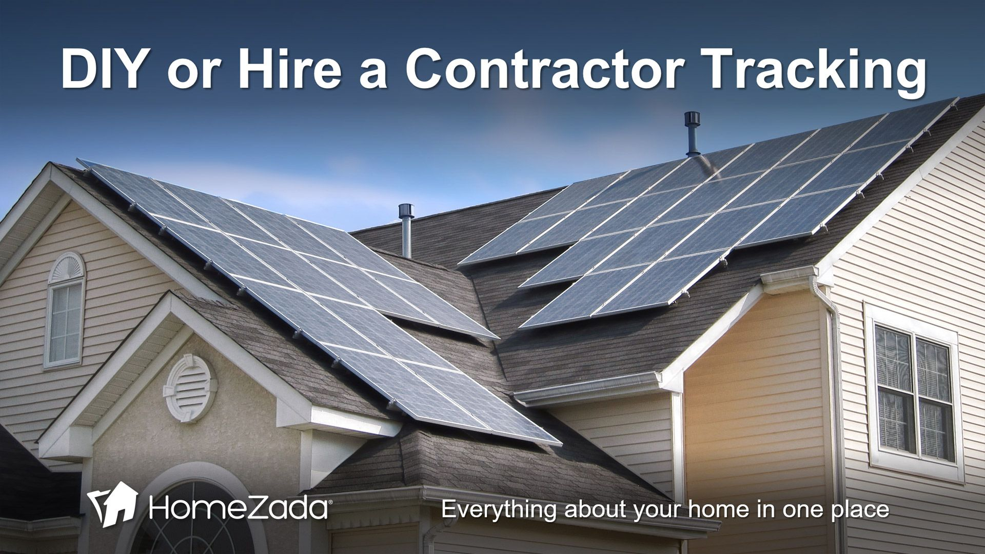 Homezada S Home Remodel Project Management Solution Is Easy And Flexible To Use Yes We Made It Easy For Homeow Solar Panels Best Solar Panels Solar Solutions