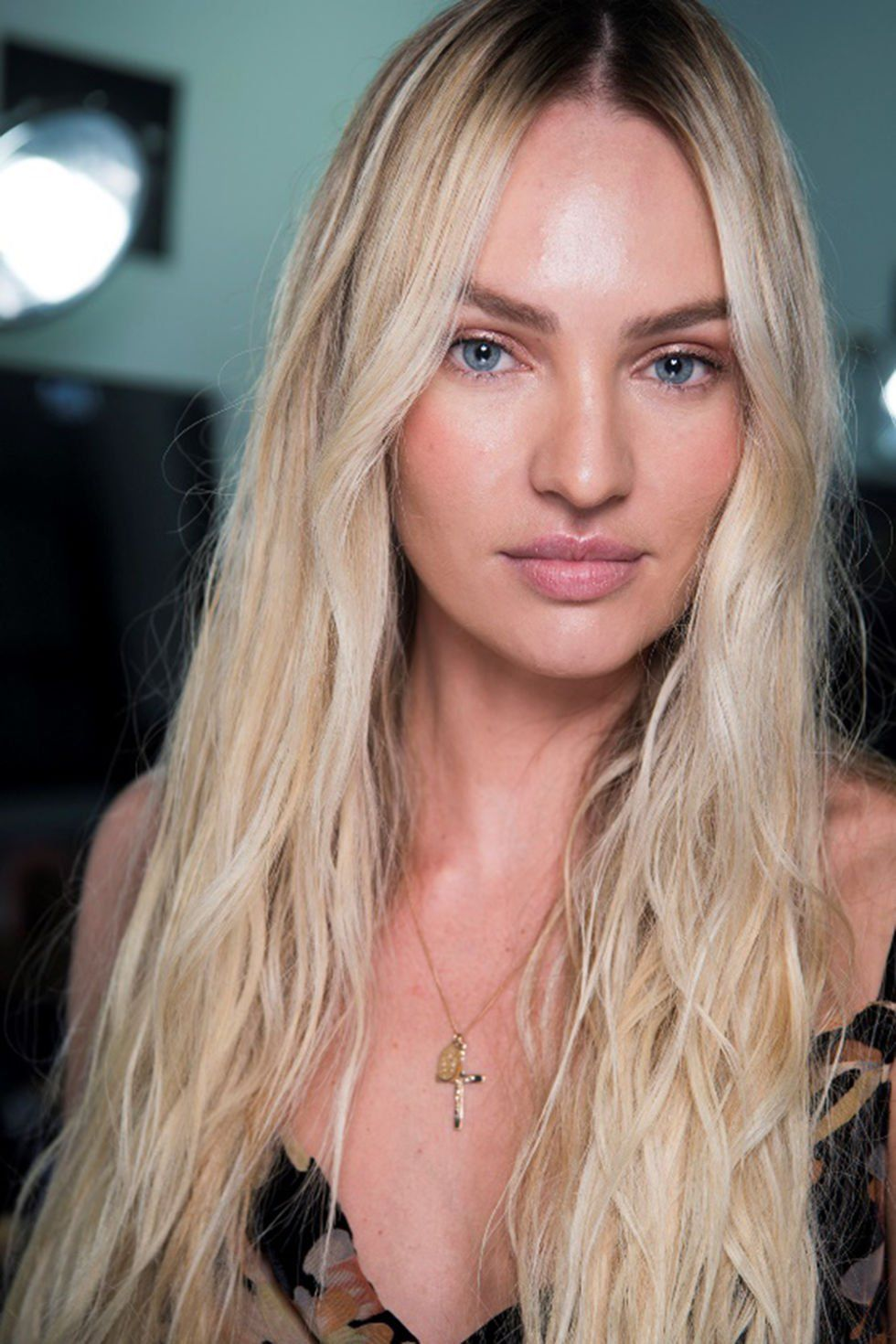 CANDICE SWANEPOEL (Candice Swanepoel backstage at Alexander Wang S/S ...
