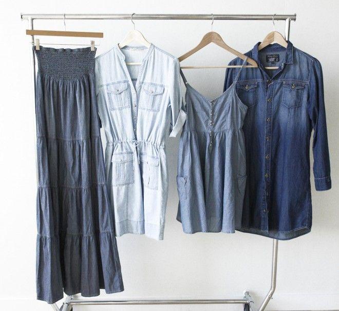 Spring trend: Denim dresses go into the blue - Chatelaine