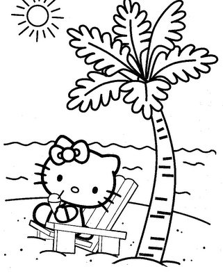 Hello Kitty Coloring Pages Hello Kitty Colouring Pages Hello Kitty Coloring Free Kids Coloring Pages