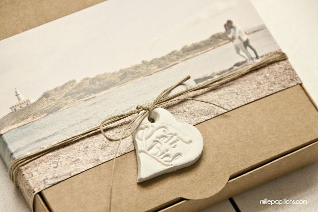 Kraft Wedding Invitation by Mille Papillons  Photograpy by HUMà06