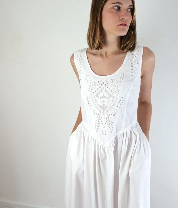 1000  images about Summer white dress on Pinterest | Cotton summer ...