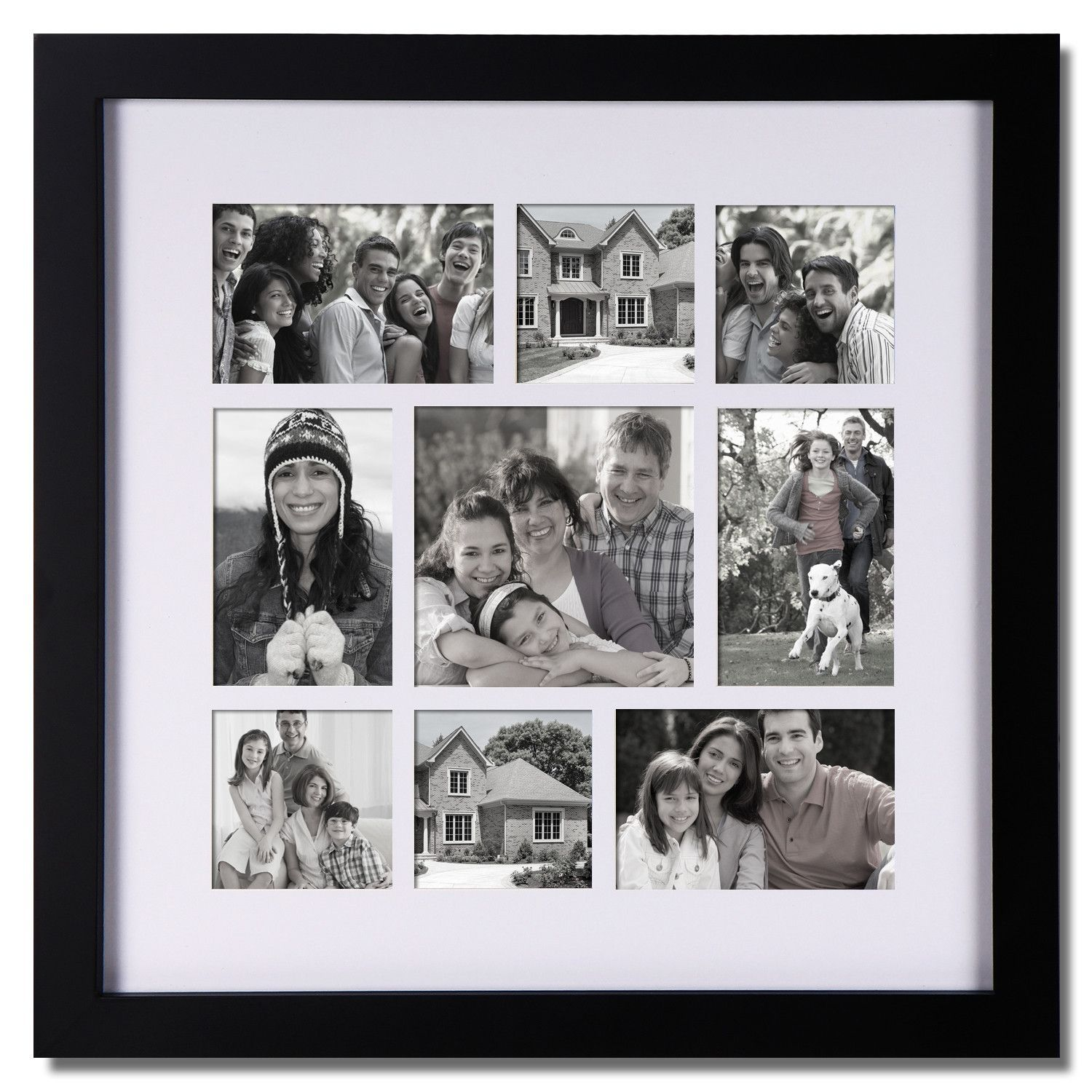 buy Furnistar 9-Opening Collage Picture Frame at Harvey & Haley for ...