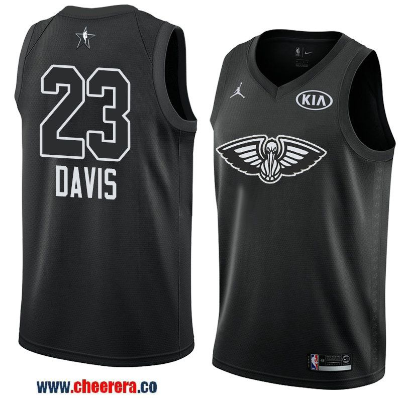 896827ad0 men s eastern conference new orleans pelicans  23 anthony davis black 2018  nba all-star jersey