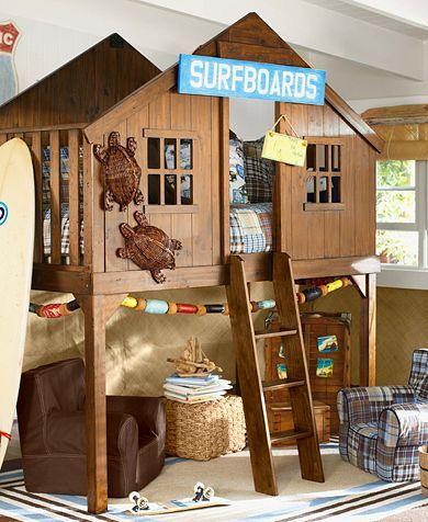 das perfekte clubhaus f r ein kind kinderzimmer. Black Bedroom Furniture Sets. Home Design Ideas