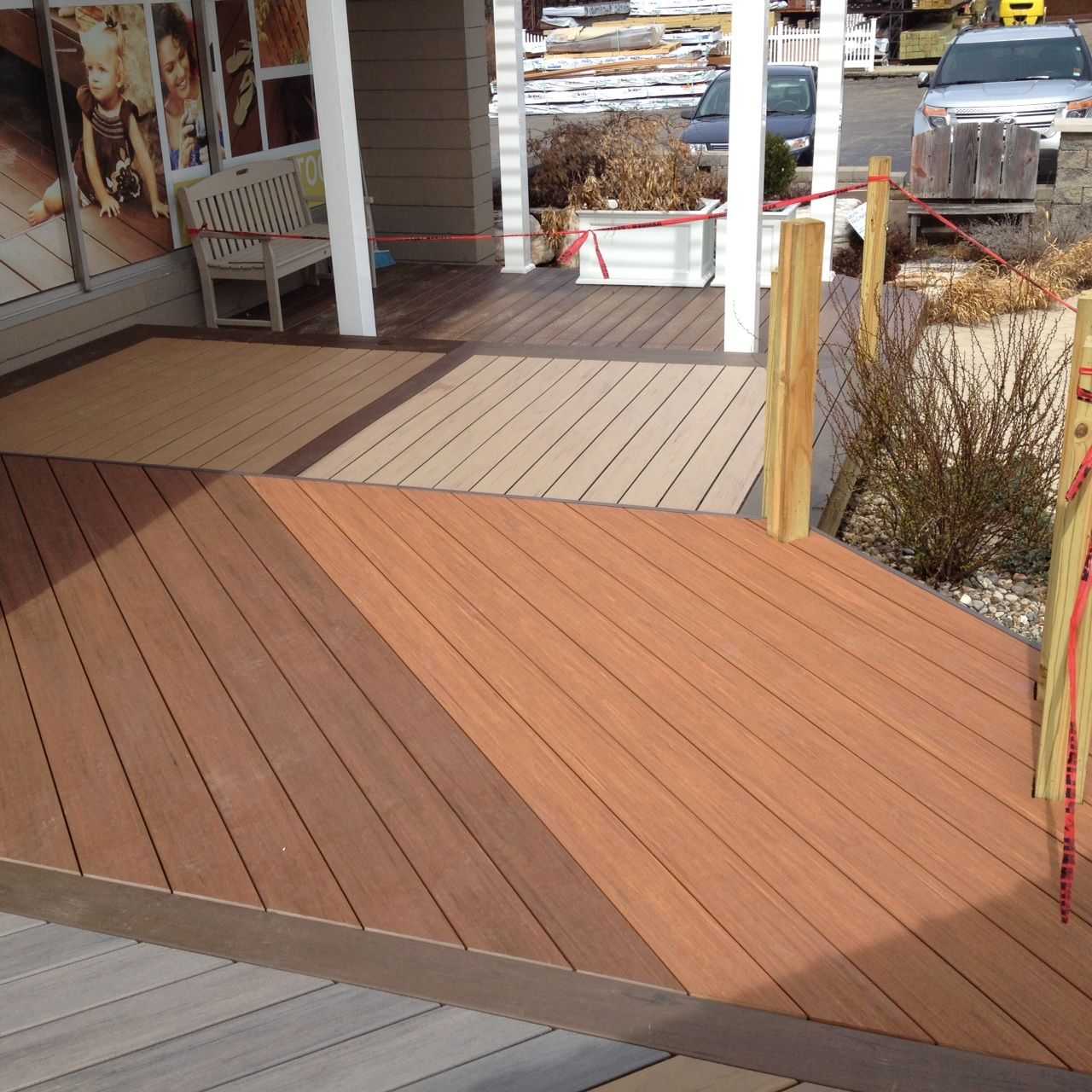 Tongue And Groove Blue Composite Deck Bmw Decking Panels Wpc Epoch