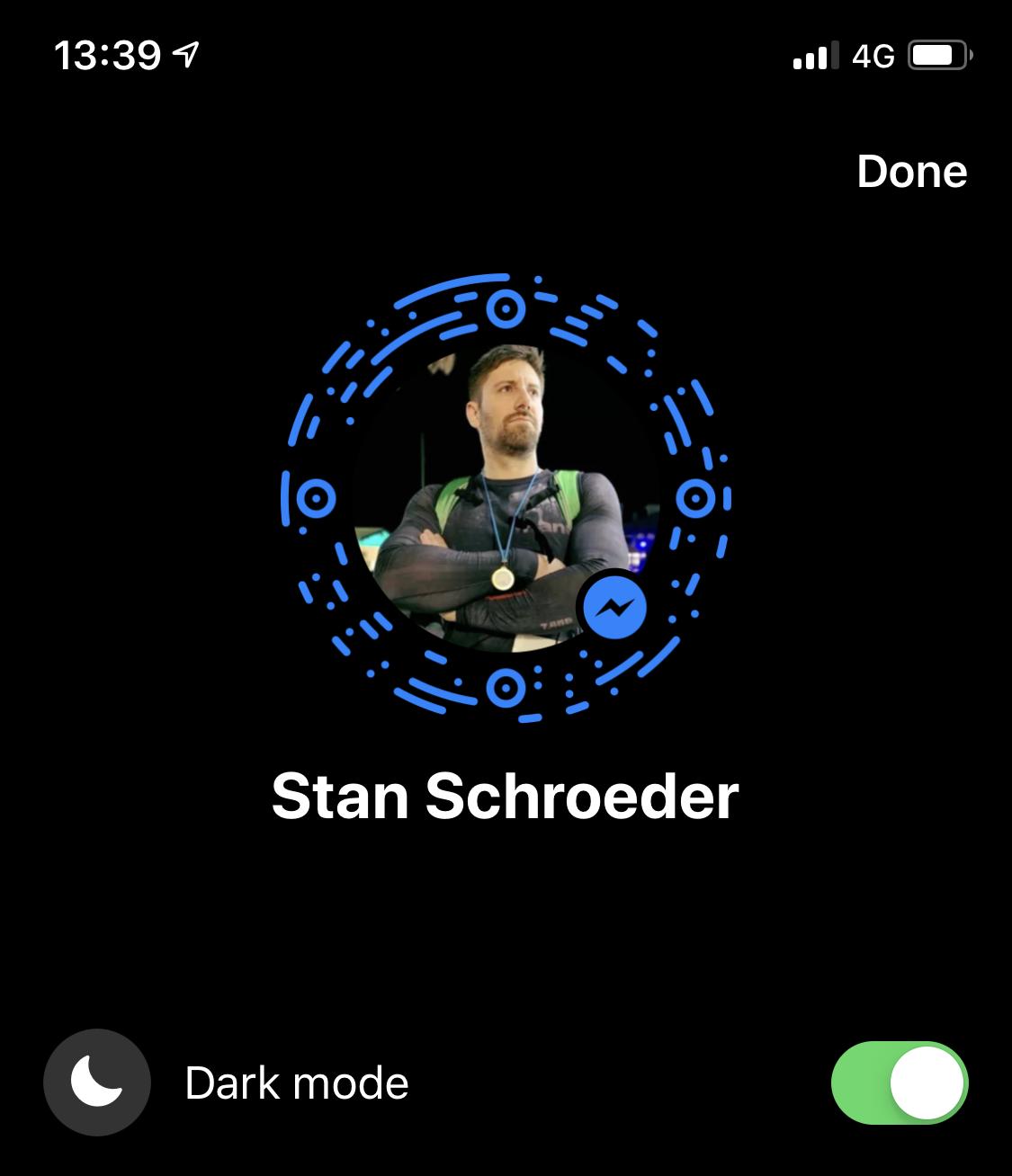 How To Unlock Facebook Messenger S Hidden Dark Mode Dark Quit Facebook Facebook Messenger