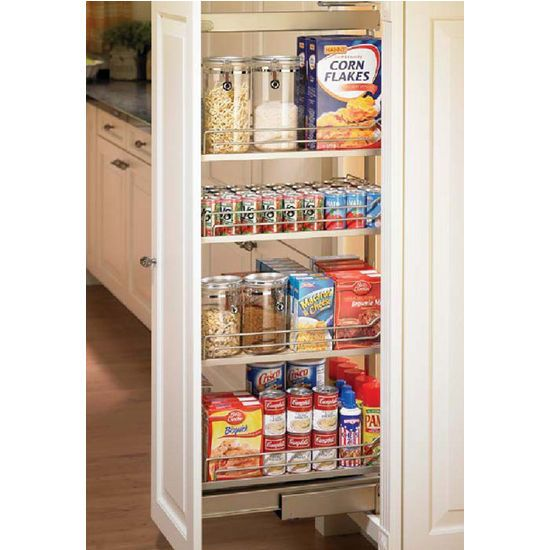 Pantry pull out 12 to 20 width hafele kitchensource - Roll out shelving for pantry ...