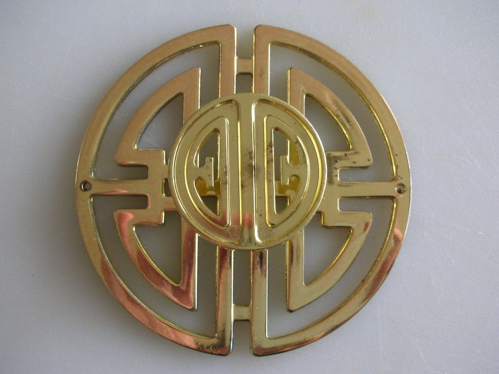 This Is No Longer Available But I Love It! Hollywood Regency Brass Hardware  Asian