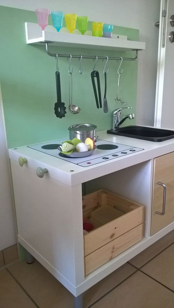 IKEA Kinderzimmer DIY Kinderkueche in 2020 | Kinder zimmer ...