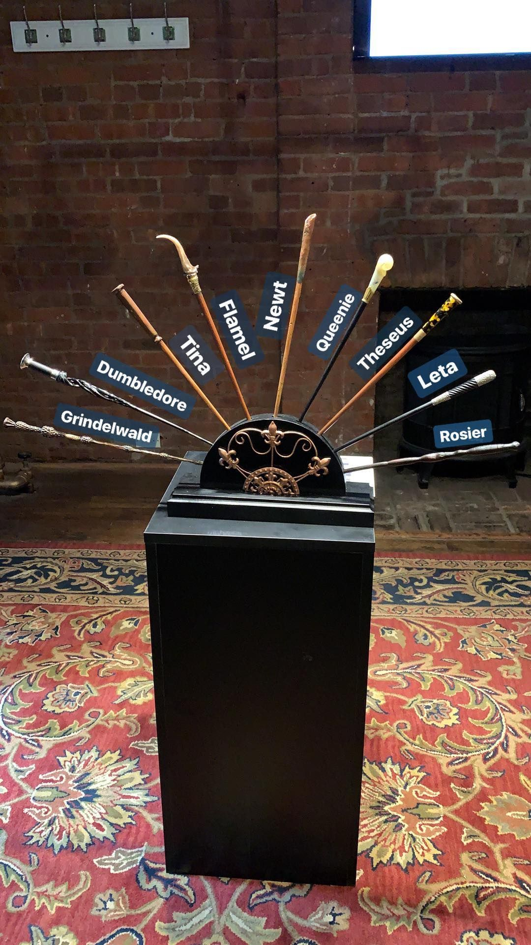 Fantastic Beasts Wizarding World Wands Named Harry Potter Wand
