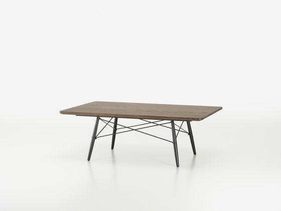 Eames Coffee Table Rectangular   American Walnut_ @vitra