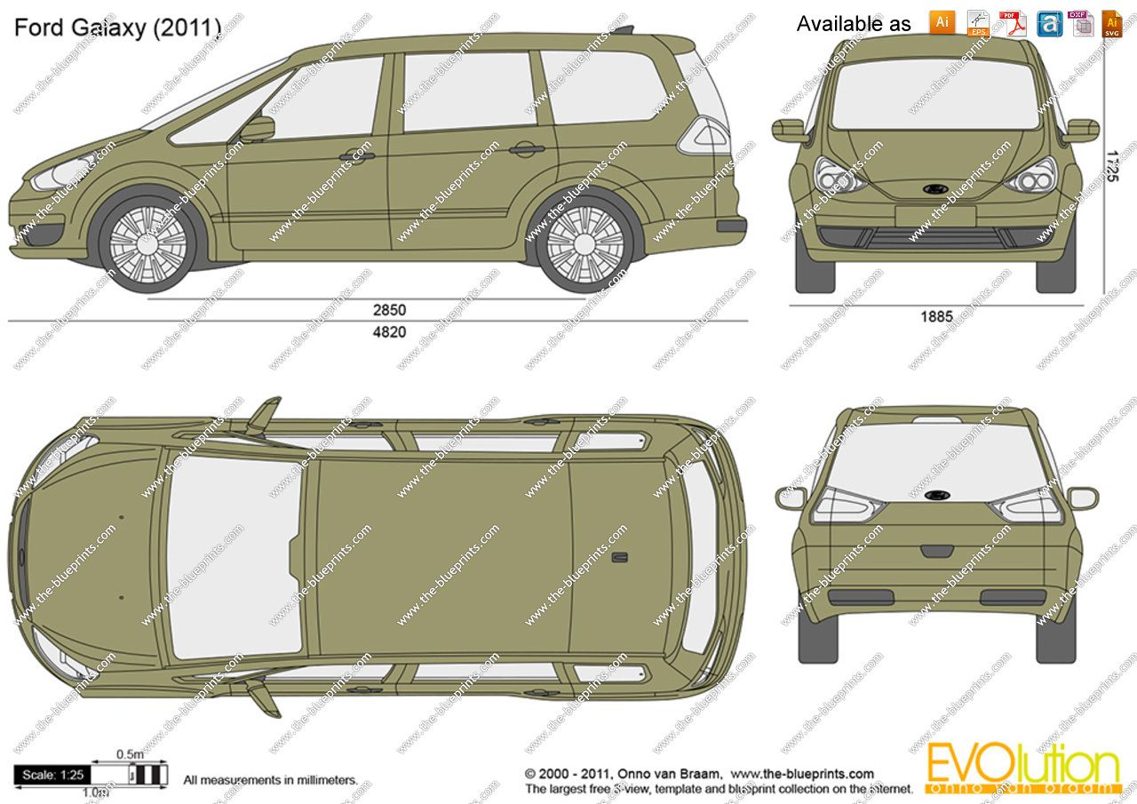 Ford galaxy dimensions 2011 google search