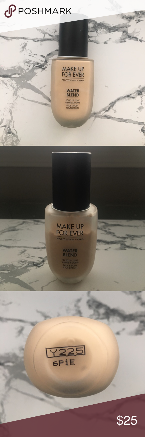 Makeup Forever Water Blend Foundation Shade Y225 This is a