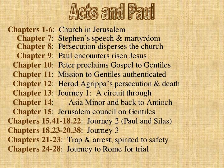 Book of acts bible study lesson