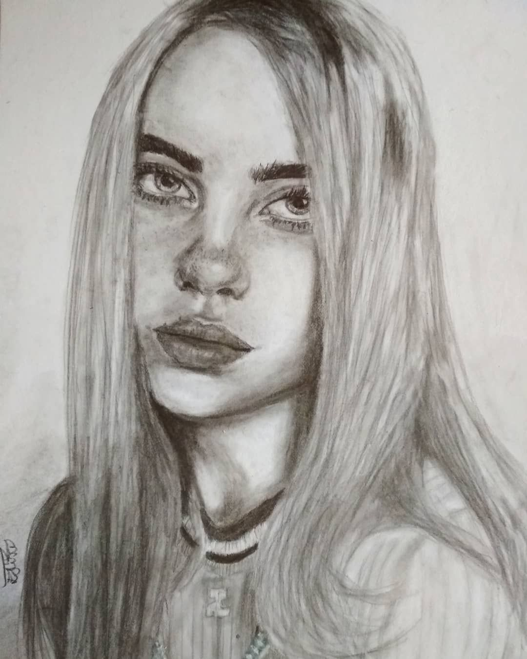 Billie Eilish Mydrawing Drawing Billieeilish With Images